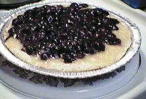 [blueberry-peach tart]