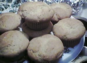 [maple nut muffins]
