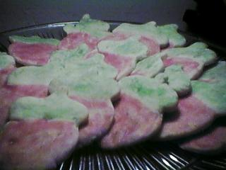 [strawberry cookies]