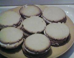 [vanilla cream cookies]